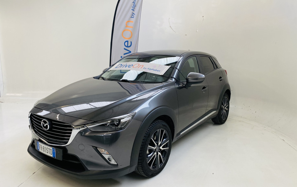 Alphabet - MAZDA - CX-3 - Manuale